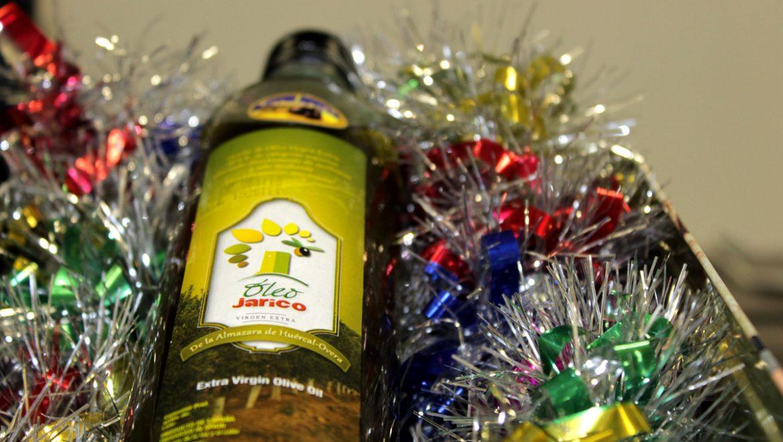Regala salud con el virgen extra Óleo Jarico por Navidad