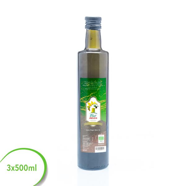 aceite virgen extra ecologico de almeria 3x500ml