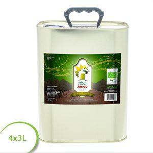 Aceite virgen extra ecologico 4x3L