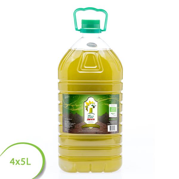 aceite virgen extra ecológico oleo jarico 4x5L