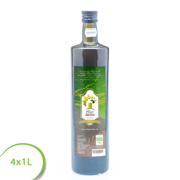 aceite virgen extra ecologico 4x1L oleo jarico