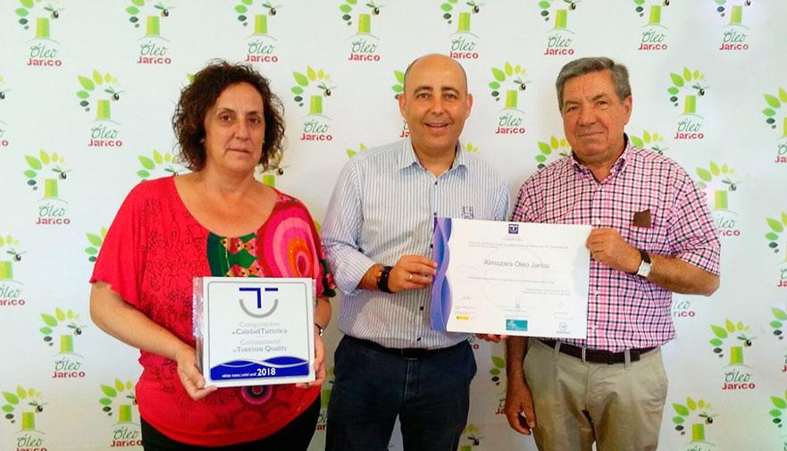 Visitas guiadas a la Almazara con la Calidad Turística de SICTED