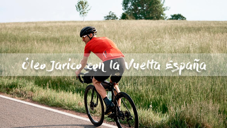 El aceite virgen extra de Óleo Jarico en lo más alto de podio de la Vuelta Ciclista España 2018