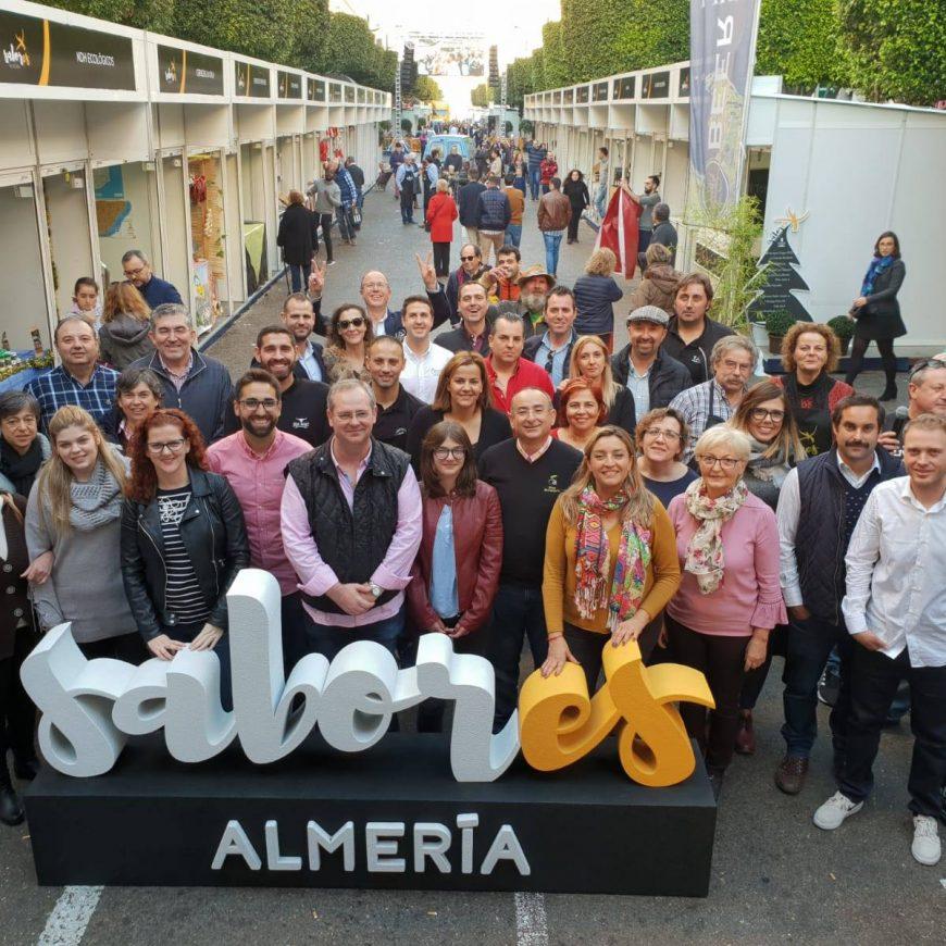 Nuestro aceite de oliva virgen extra de Almería, brilla en Sabores Almería