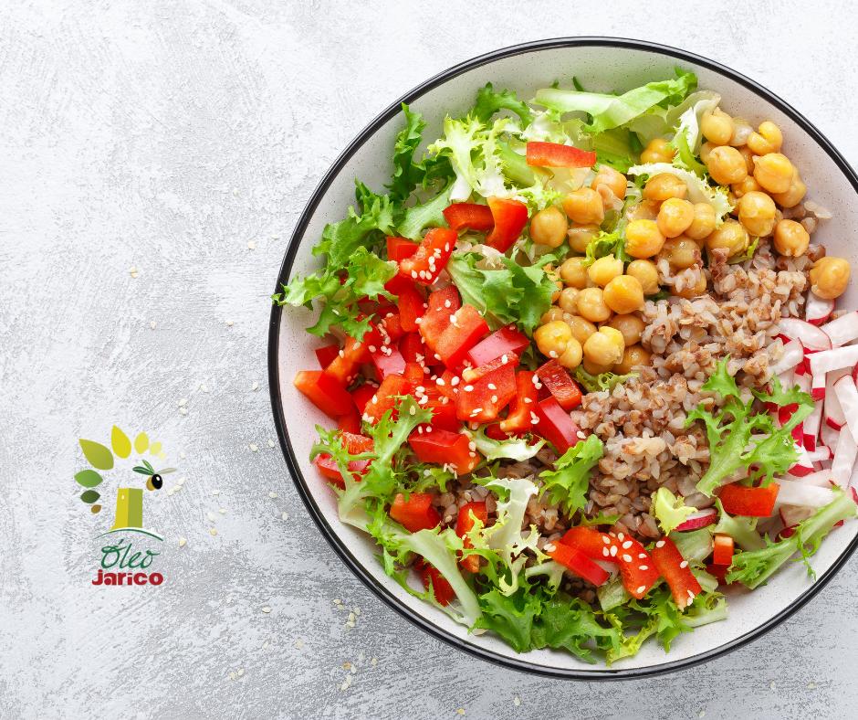 Recetas para comer más legumbres en verano con aceite de oliva virgen extra