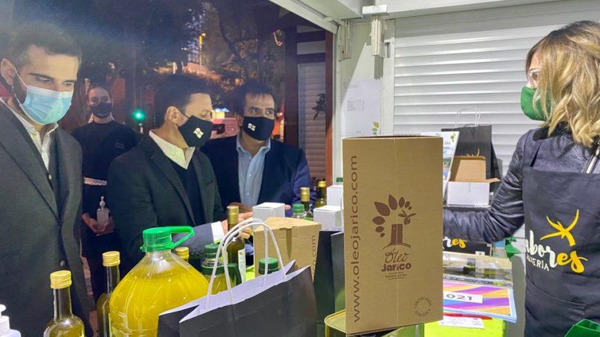 Óleo Jarico triunfa en la feria Sabores de Almería